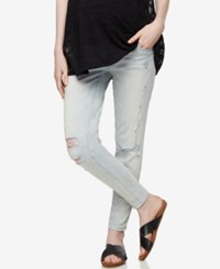 Blank Nyc Maternity Light Wash Skinny Jeans