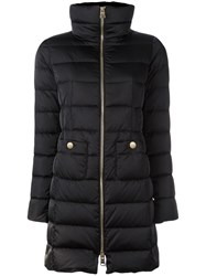 Herno Zip Up Down Jacket Black