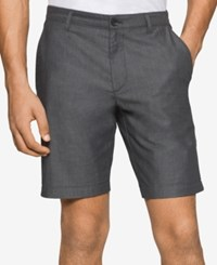 Calvin Klein Double Face Cuffed Shorts Black