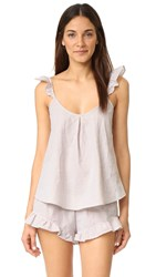 For Love And Lemons Emmy Sleeper Tank Pin Stripe