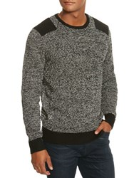 Kenneth Cole Marled Crewneck Sweater Charcoal Heather