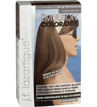 J.F.Lazartigue Colour Emulsion For Grey Hair In Light Golden Chestnut 60Ml