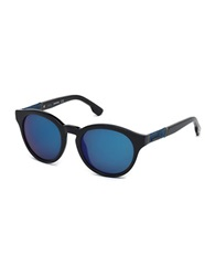 Diesel 51Mm Catseye Sunglasses Black