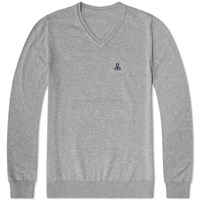 Sophnet. V Neck Knit Grey