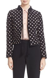 Kate Spade Women's New York Ditsy Floral Silk Quilted Jacket