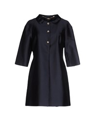 Clips Coats And Jackets Full Length Jackets Women Dark Blue
