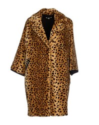 Hache Coats And Jackets Faux Furs Women