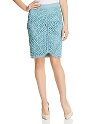 Greylin Round Hem Lace Skirt Compare At 122.50 Cerulean