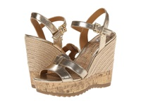 G By Guess Pretty Oro Women's Wedge Shoes Gold