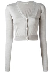 Stella Mccartney Cropped Cardigan Grey