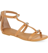Marc By Marc Jacobs Triple Bow Sandals Tan