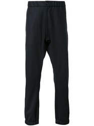 Attachment Gathered Ankle Trousers Black