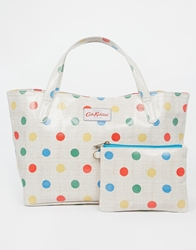 Cath Kidston Small Grab Handle Tote Oc Natural