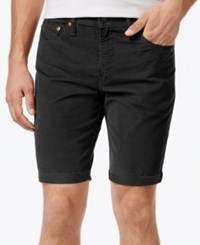 Levi's Men's 511 Cut Off Corduroy Shorts Black Top