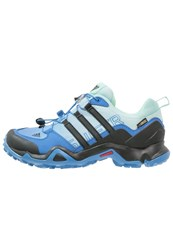 Adidas Performance Terrex Swift R Gtx Walking Shoes Ray Blue Core Black Ice Green