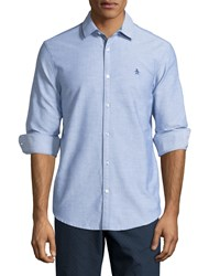 Penguin Slim Fit Oxford Shirt True Blue