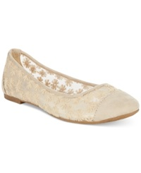 Rampage Larry Ballet Flats Women's Shoes Natural