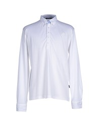 Armata Di Mare Topwear Polo Shirts Men White