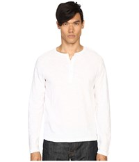 Todd Snyder Weathered Henley White Men's T Shirt