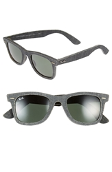 Ray Ban 'Original Wayfarer Denim' 50Mm Sunglasses Black Denim Green