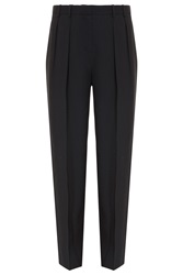 The Row Elin Matte Crepe Wide Pant