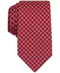 Nautica Men's Isles Mini Tie Red