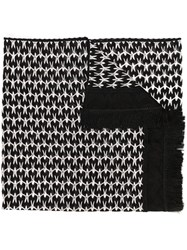 Missoni Knitted Scarf Black