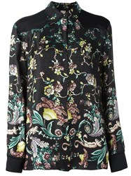 Antonio Marras Floral Print Shirt Black