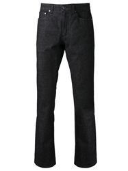 Versace Collection Straight Leg Jeans Black