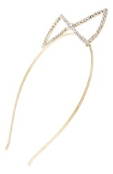 Cara 'Bow Crown' Headband Crystal