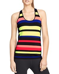 Lauren Ralph Lauren Trudka Striped Racerback Tank Multi