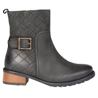 Barbour Lambeth Block Heeled Ankle Boots Black
