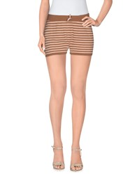 Momoni Momoni Trousers Shorts Women Brown