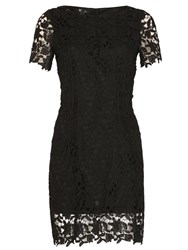 Cutie Lace Fitted Dress Black