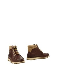 Sperry Top Sider Ankle Boots Cocoa
