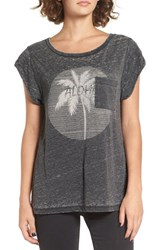 Rip Curl Women's Aloha Moon Graphic Print Tee