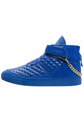 Cayler And Sons Hamachi Hightop Trainers Parigian Blue Gold Royal Blue