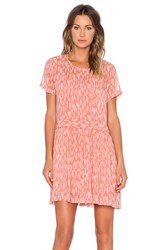 1. State Drop Waist Shift Dress Coral