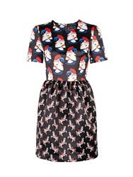 Markus Lupfer Pageant Horse Print Vivian Dress Black Multi Black Multi