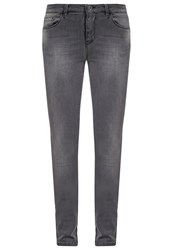 Boss Orange Leeds Slim Fit Jeans Real Grey Denim