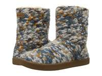 Sanuk Toasty Tails Short Dusty Teal Speckle Women's Pull On Boots Multi