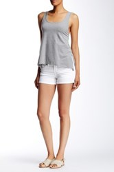 Silver Jeans Co. Aiko Mid Short White
