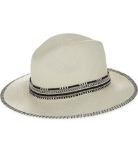 Sara Designs Carmen Panama Hat Black