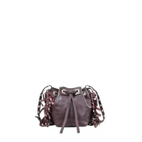 Vanessa Bruno Small Charlie Bucket Bag With Fringe