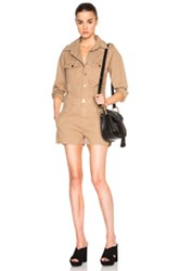 Frame Denim Citadel Romper In Neutrals