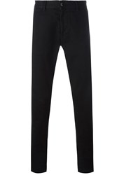 Stone Island Straight Leg Chinos Black