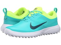 Nike Akamai Clear Jade Volt White Midnight Turquoise Women's Golf Shoes Blue
