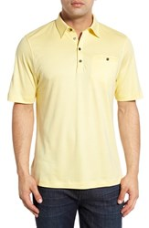 Men's Big And Tall Cutter And Buck 'Cienega' Regular Fit Polo Sun Bleached