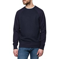 La Panoplie Navy Damier Sweater Blue