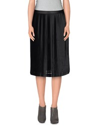 Armani Jeans Skirts Knee Length Skirts Women Black
